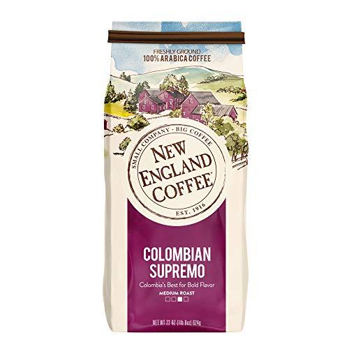 New England Coffee's Colombian Supremo