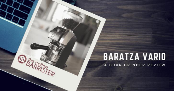Baratza Vario Ceramic Burr Coffee Grinder Feature Image