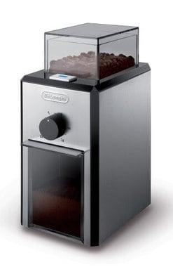DeLonghi KG89 Burr Coffee Grinder Front