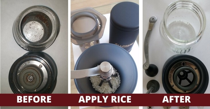 Rice Cleaning Method Before And After