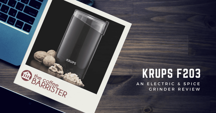 KRUPS F203 Electric Coffee & Spice Grinder [REVIEW]